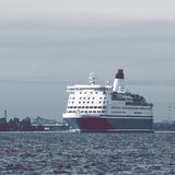 Big cruise liner Stock Photography