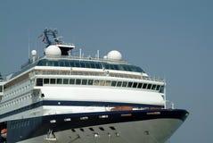 big cruise prow ship 库存图片