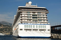 Big cruise ship Royalty Free Stock Photography
