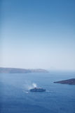 Big cruise ship Royalty Free Stock Image