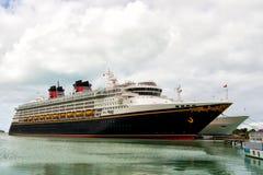 Big cruise ship Disney Wonder Royalty Free Stock Photo