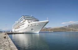 Big cruise ship Royalty Free Stock Photography