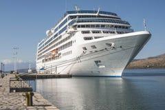 Big cruise ship Stock Image