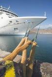 Big cruise ship Stock Images