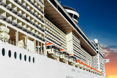 A big cruise ship Stock Photos