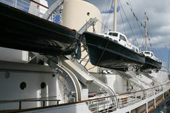 A big cruiser ship Royalty Free Stock Photography