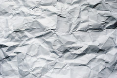 Big crumpled paper Stock Images