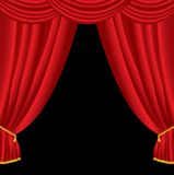 Big curtain Stock Photos
