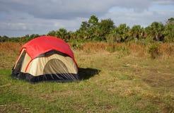Big Cypress Camping Royalty Free Stock Image