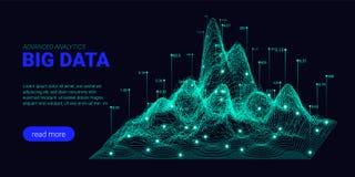 Big Data analizy unaocznienie r ilustracji