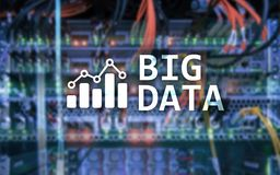 Big data analysing server. Internet and technology. Big data analysing server. Internet and technology Stock Images