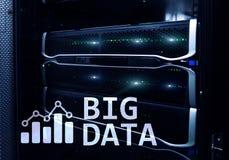Big data analysing server. Internet and technology. Big data analysing server. Internet and technology Stock Photography