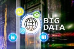 Big data analysing server. Internet and technology.  Stock Photos