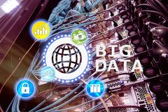Big data analysing server. Internet and technology. Big data analysing server. Internet and technology stock photography