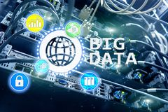 Big data analysing server. Internet and technology.  stock photos