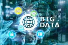 Big data analysing server. Internet and technology. Big data analysing server. Internet and technology Stock Image