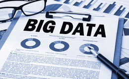Big data analysis concept Royalty Free Stock Images