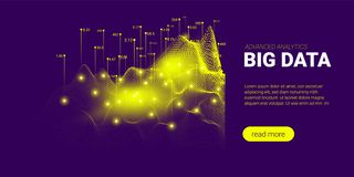 Big Data Analysis Futuristic Concept. vector illustration