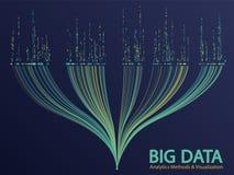 Big data visualization concept vector stock image