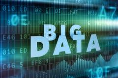 Big data background Stock Image
