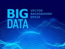 Big data. Binary code background Stock Image