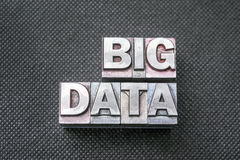 Big data bm Royalty Free Stock Photos