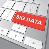 Big Data button on computer keyboard Royalty Free Stock Photography