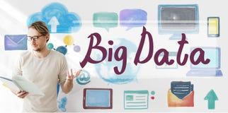 Big Data Cloud Digital Information Technology Concept Royalty Free Stock Photos