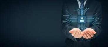 Big data concept Royalty Free Stock Image