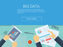 Big data concept background. Cloud computing Royalty Free Stock Photos