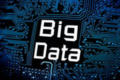 Big data Royalty Free Stock Photos