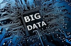 Big data Stock Image