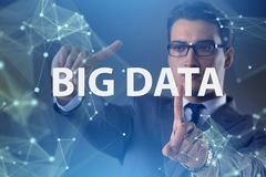 The big data concept with data mining analyst. Big data concept with data mining analyst stock photos