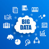 Big Data concept Stock Photography
