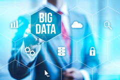 Big Data Concept Stock Photos