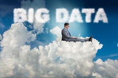 The big data concept in it technology Royalty Free Stock Photos