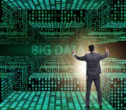 Free Big Data Concept With Data Mining Analyst Stock Photography - 182298702