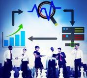 Big Data Database Storage Analysis Security Concept Royalty Free Stock Image
