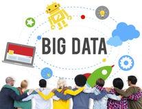 Big Data Database Storage Analysis Security Concept Stock Photos