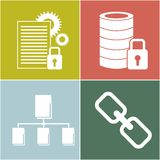Big data design. Illustration eps10 graphic Stock Photo