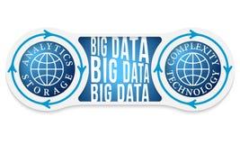 Big data headline Stock Photos
