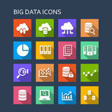 Big Data icon Royalty Free Stock Photo