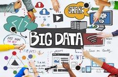 Big Data Information Storage Server Online Technology Concept Stock Photos