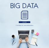 Big Data Information Technology Networking Concept Stock Image