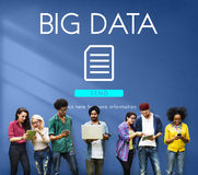 Big Data Information Technology Networking Concept Royalty Free Stock Photo