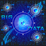 Big data Royalty Free Stock Photo
