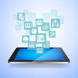 Big Data Science Concept Stock Photography
