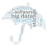 Big data search Royalty Free Stock Photos
