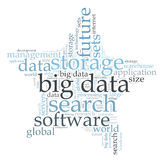 Big data search Royalty Free Stock Photography