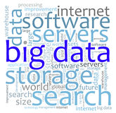 Big data search Royalty Free Stock Photo